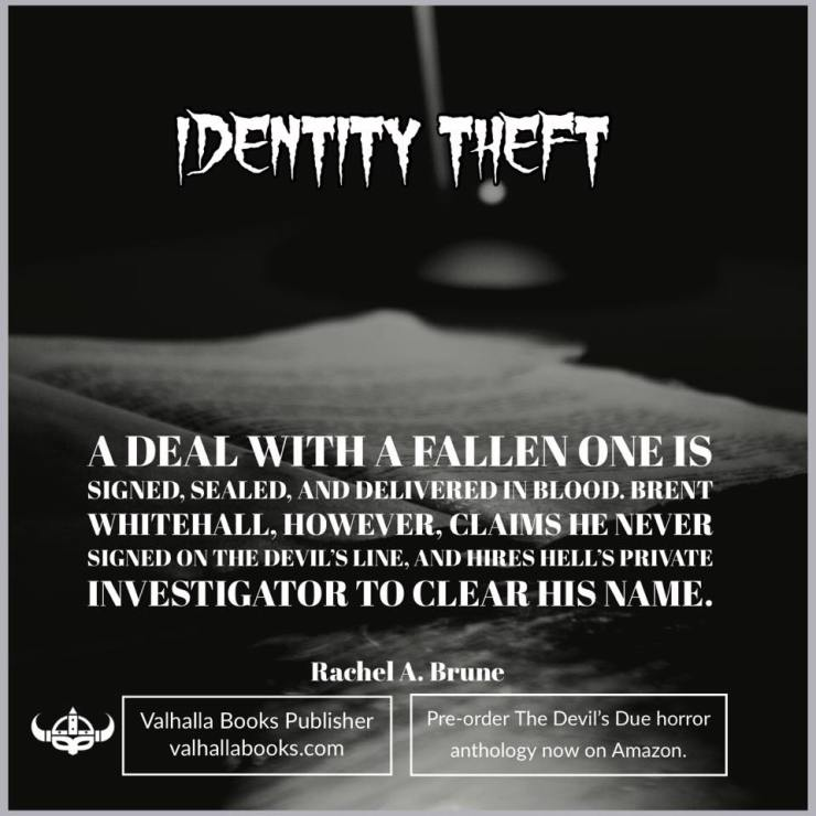 Identity theft by Rachel A Brune