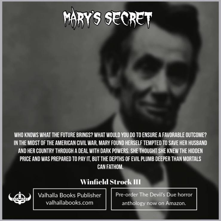 Mary's Secret by Winfield Strock III