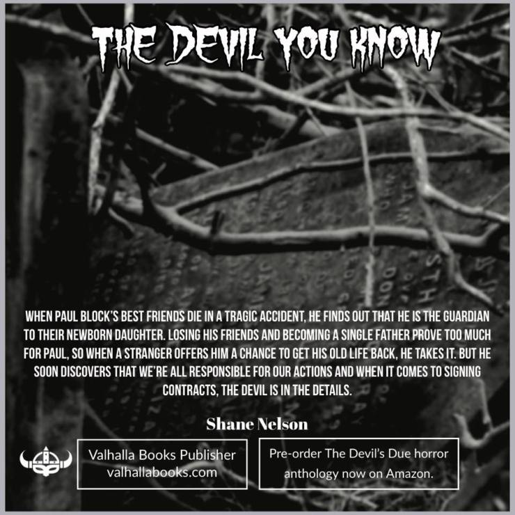 The Devil You Know by Shane Nelson